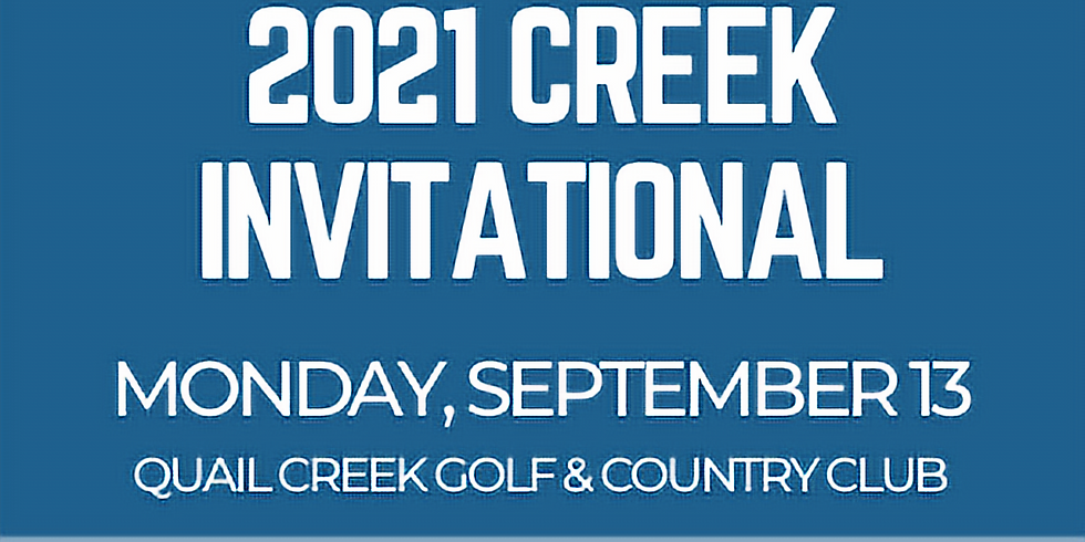 2021 Creek Invitational Golf Tournament