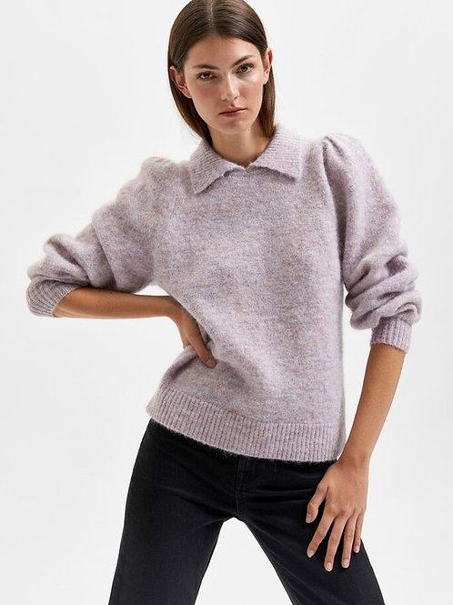 Sia Knit - Chalk Pink