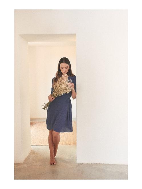 Dianthus Dress Midnight Blue