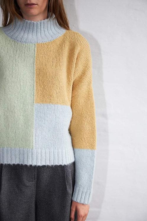 Nori Sweater Pastel Mix
