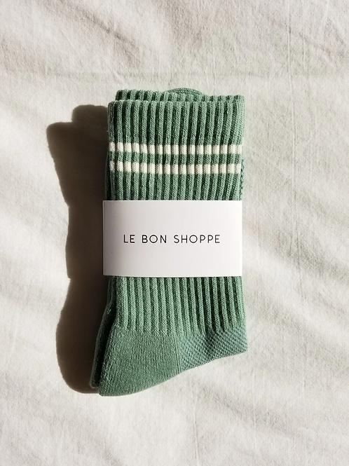 Boyfriend Socks - Meadow