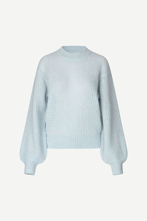 Thelma Knit Light Blue/Grey