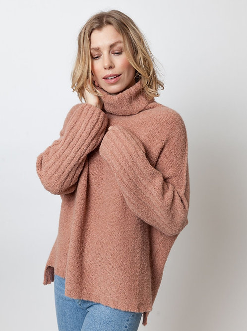 LN Knits Sloppy Stevie Blush Camel