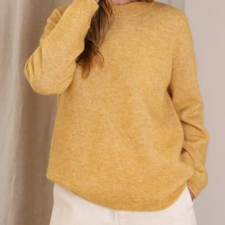 Code Knit Yellow