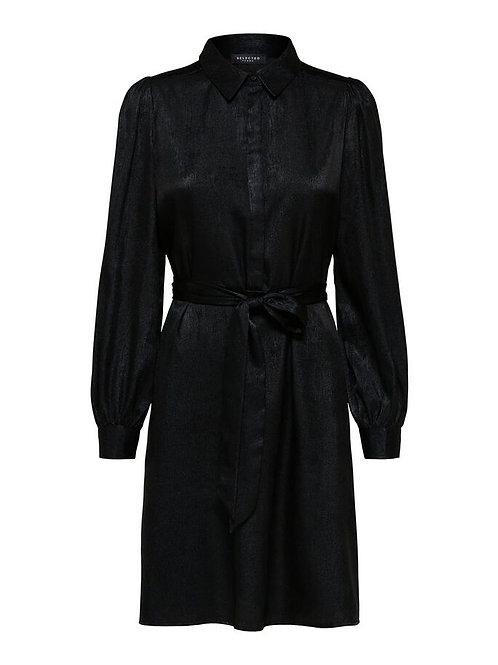 Aurelia Dress Black Foil