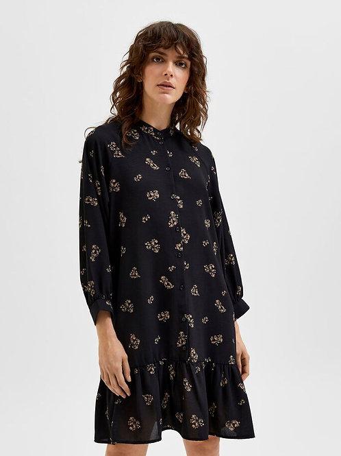 Margunn Short Dress - Black