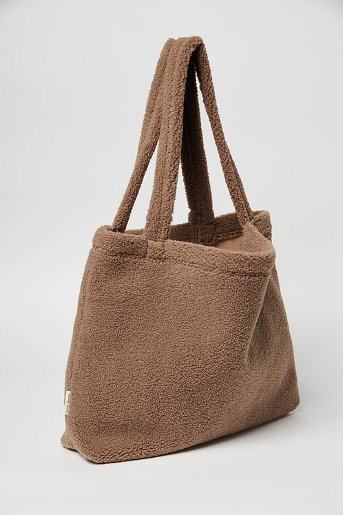 STUDIO NOOS - Teddy Tote Bag / Mom Bag Brown
