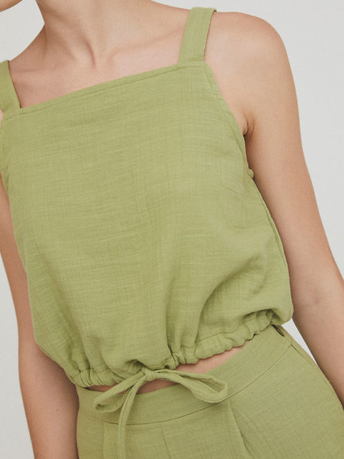 Orla Top Olive