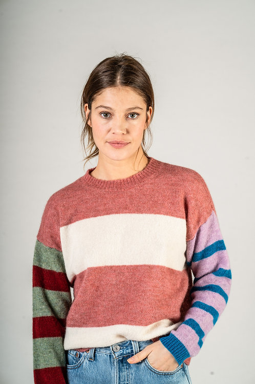 Hairyparachute Knit - Rose