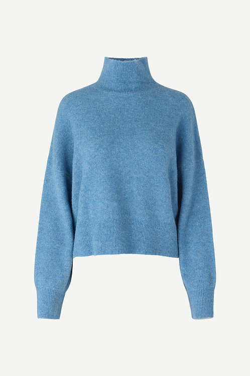 Nola Sweater - Blue Melange