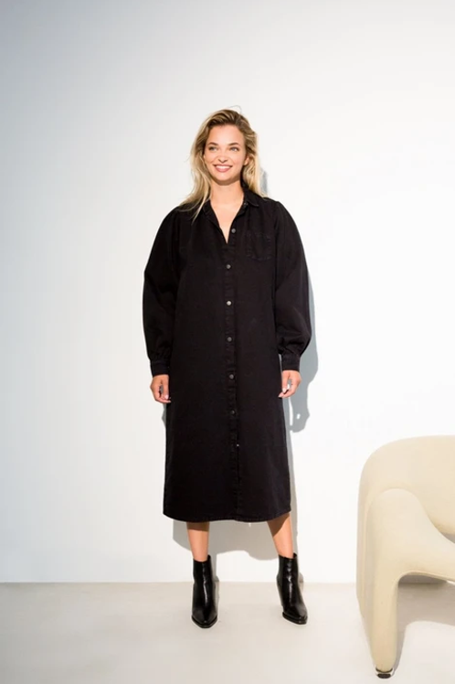 Liv Dress Nearly Black