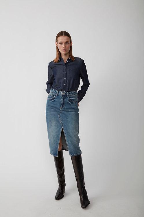 Pacific Denim Skirt