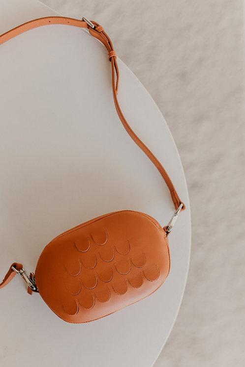 Mieke Dierckx - Oval Mini Bag Naranja