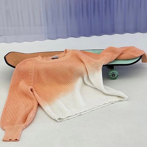 Louise Dip Dye Knit