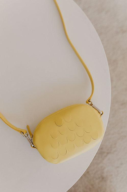 Mieke Dierckx - Oval Mini Bag Limon
