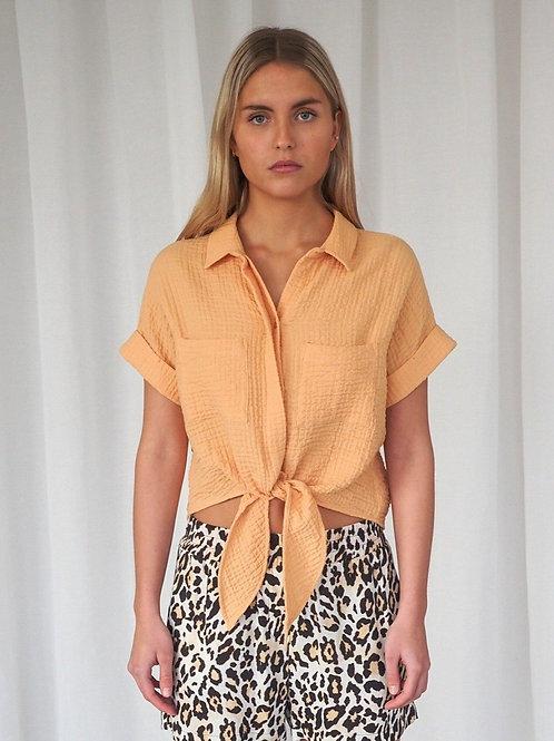 Mojar Short Sleeves Shirt Marzipan