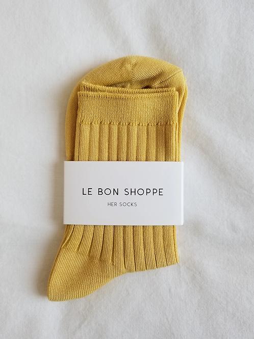 Her Socks - Buttercup