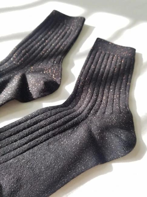 Her Socks - Copper Black