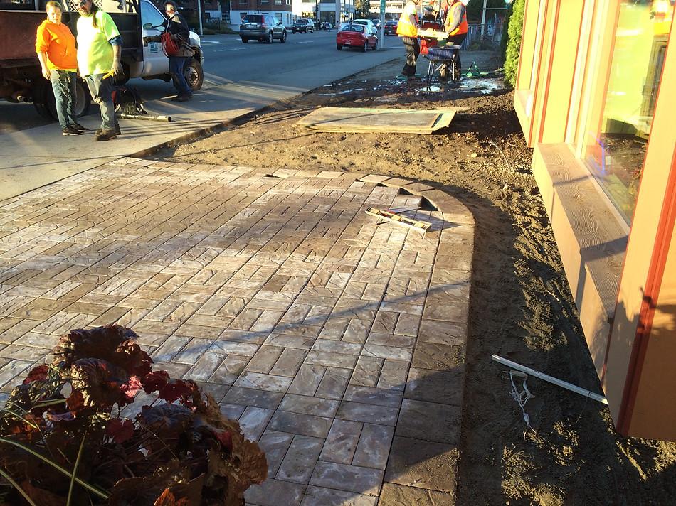ReNewWorks Walkway in progress