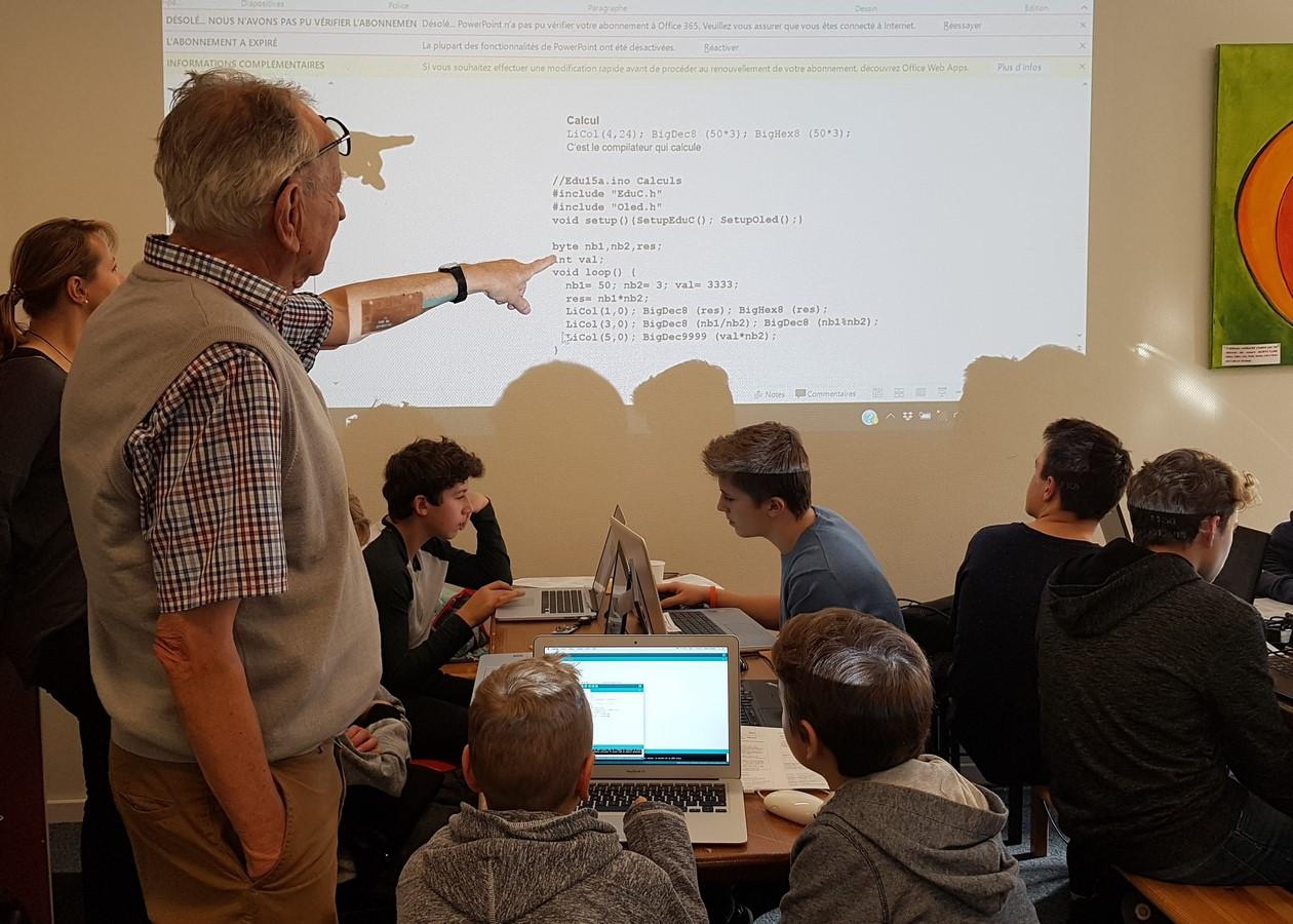 Atelier Explorado - programmation robotique - janvier 2018