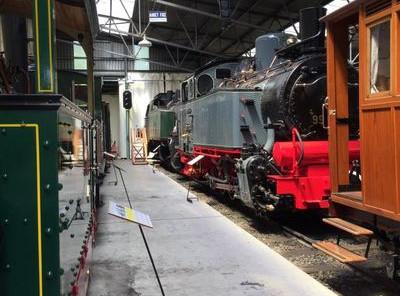 Visite privée du musée Blonay Chamby - juin 2018