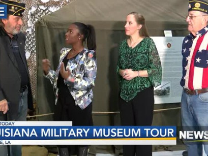 Louisiana Military Museum Tour