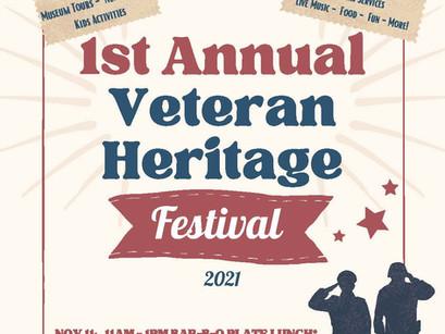 1st Annual Veteran Heritage Festival