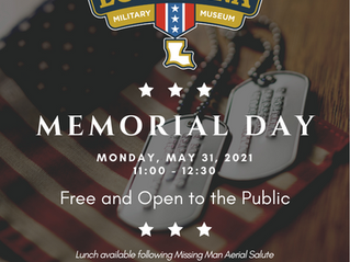 Louisiana Military Museum Hosts Memorial Day Commemoration
