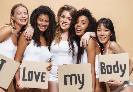 Body Image Quiz + Positive Body Image Challenge.