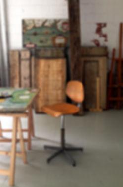 Atelier de l'artiste C. Lions,carte,marine,oeuvre,siècle,Portolan,waghenaer,forlani,explorateur,dessin,mappemonde,artsper