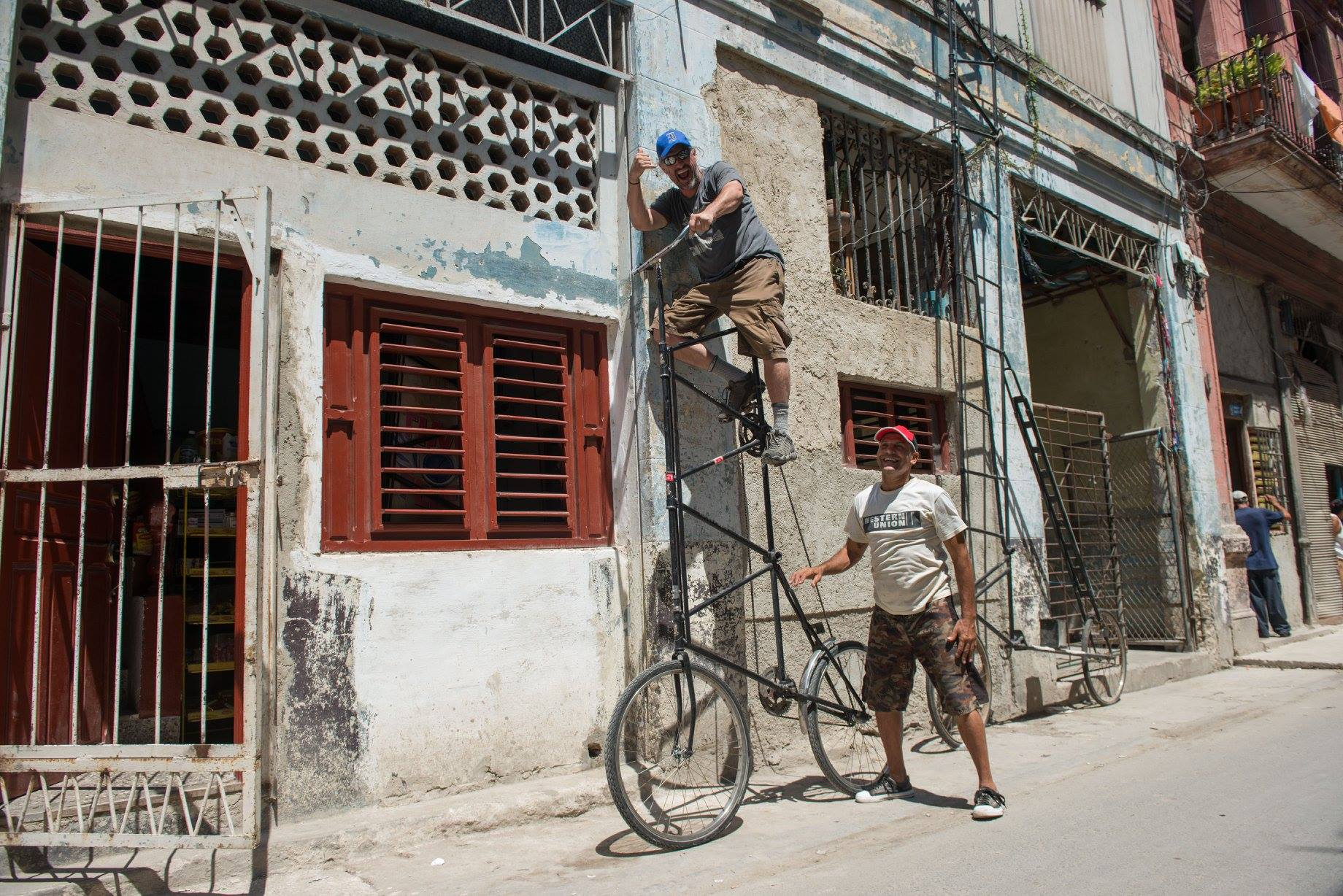 cuba tour bicycle entrepreneur