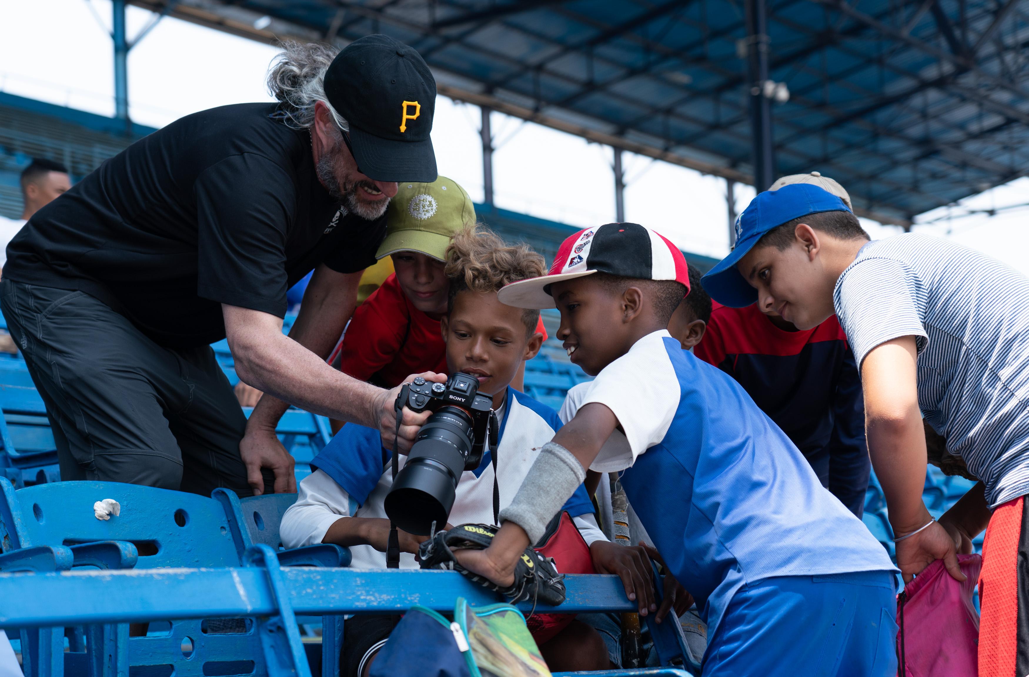 cuba tour baseball kids