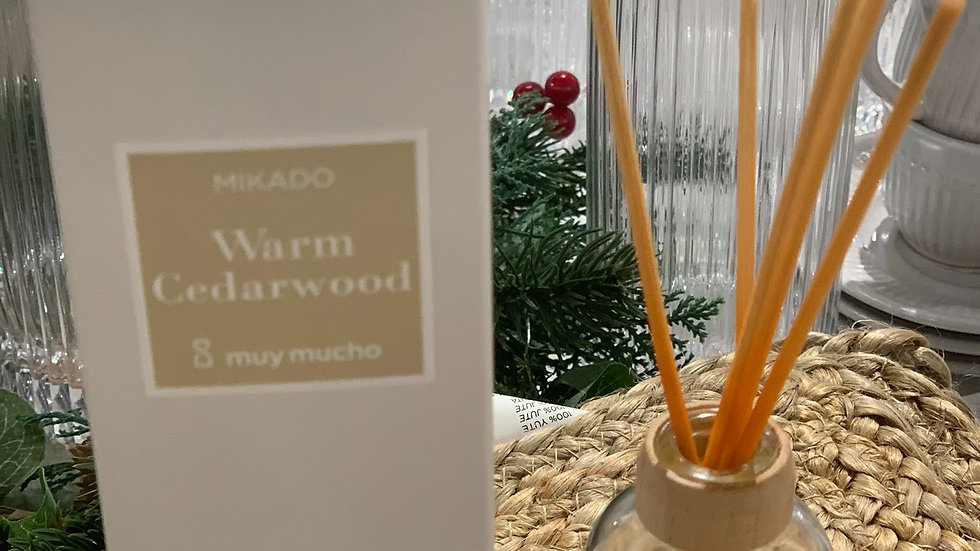"mikado senteur bois de cèdre ""cedarwood"" 50ml"