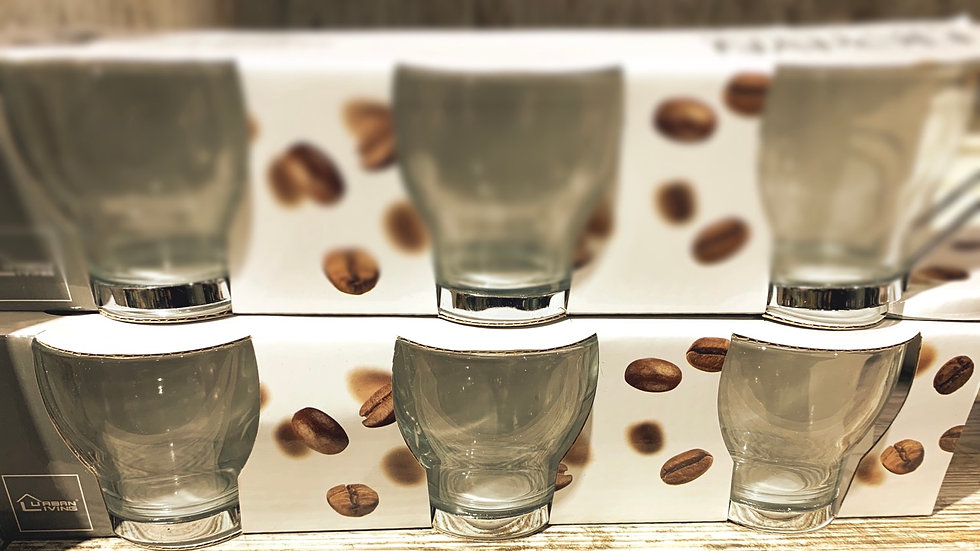 Pack 3 tasses à café