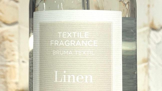Spray textile arôme lin
