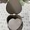 Thumbnail: Boîte forme cœur 17,5x19x6 cm