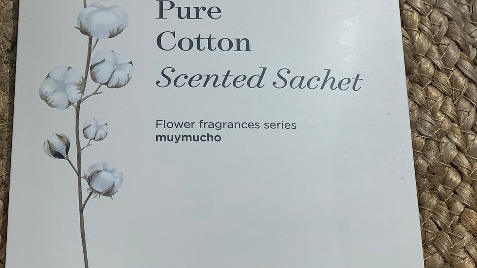 sachet parfumé pure cotton 75ml