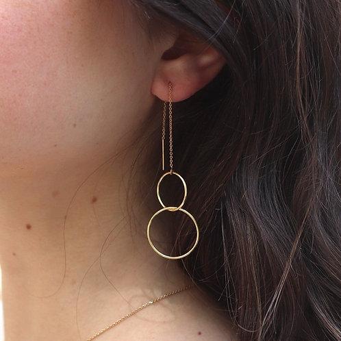 Angelina - Threader Earrings