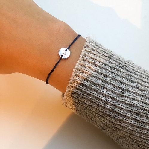 Ricarda - Initial Fabric Bracelet