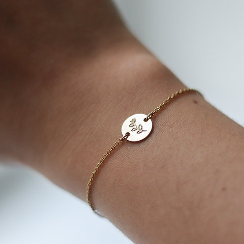 Marie - Olive Branch Bracelet