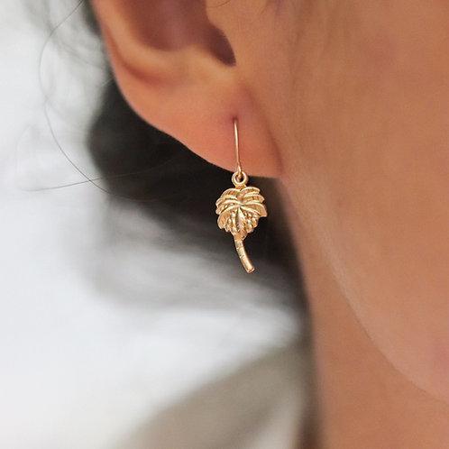 Bali - Palm Tree Earrings