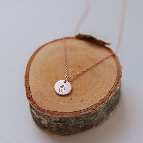 Fingers Crossed - Necklace