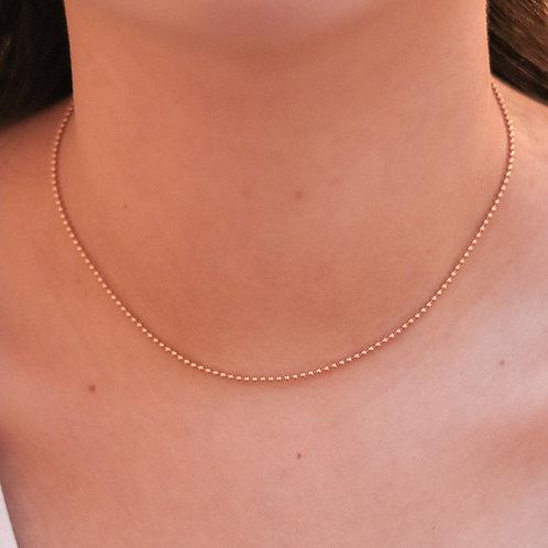 Charlotte - Bullet Necklace Gold