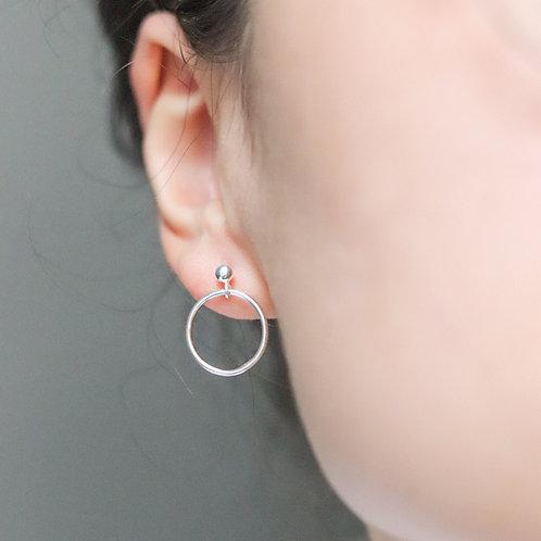 Francesca - Smooth Circle Earrings