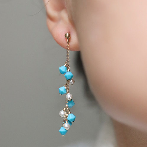Maldives - Swarovski Earrings