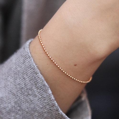 Charlotte - Bullet Bracelet Gold