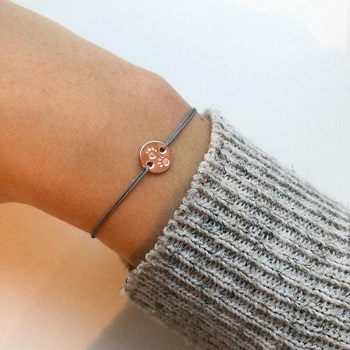 Lucy - Paw Fabric Bracelet
