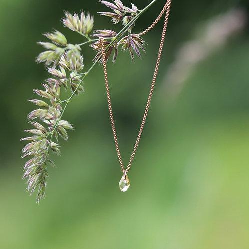 Hanna - Crystal Drop Necklace Small