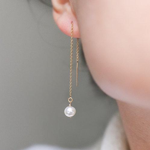 Chloe - Freshwater Pearl Earrings