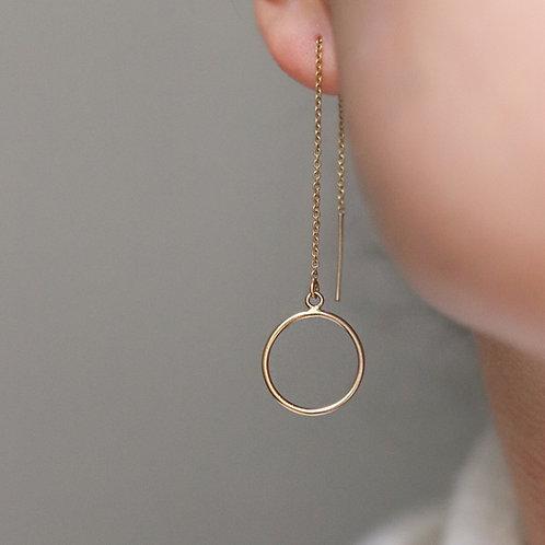 Francesca - Threader Earrings or 925 sterling silver